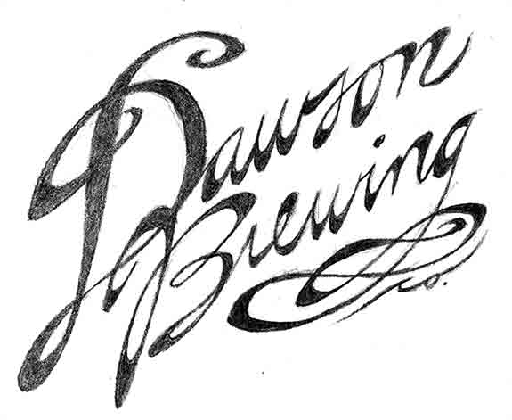 Dawson Brewing logo (sketch)