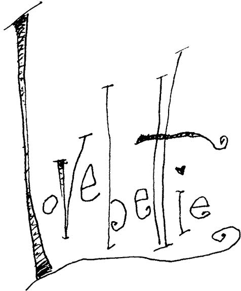 Lovebettie (hand lettering play)