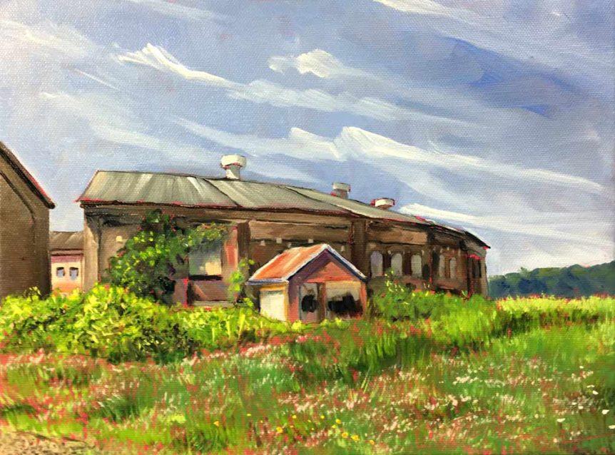 Abandoned Factory, McKeesport by Stuart Thompson