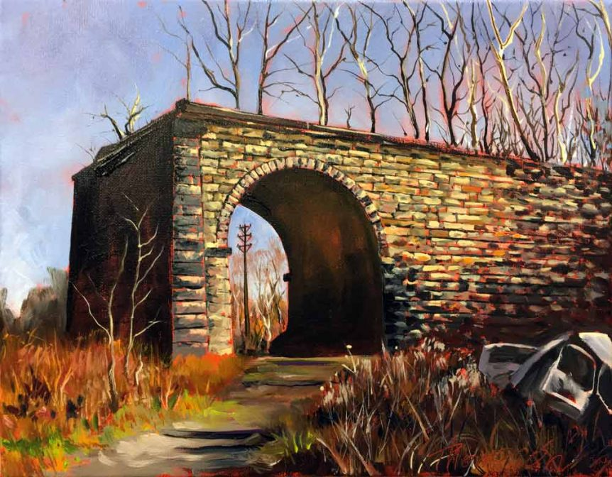 Abandoned Viaduct, Connellsville, PA by Stuart Thompson