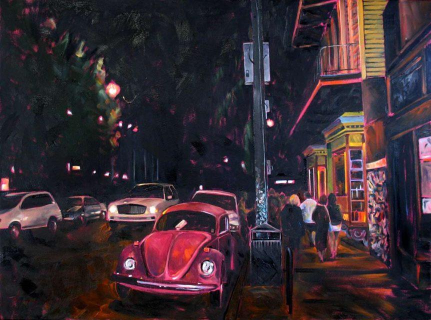 OPEN, French Quarter, New Orleans by Stuart Thompson