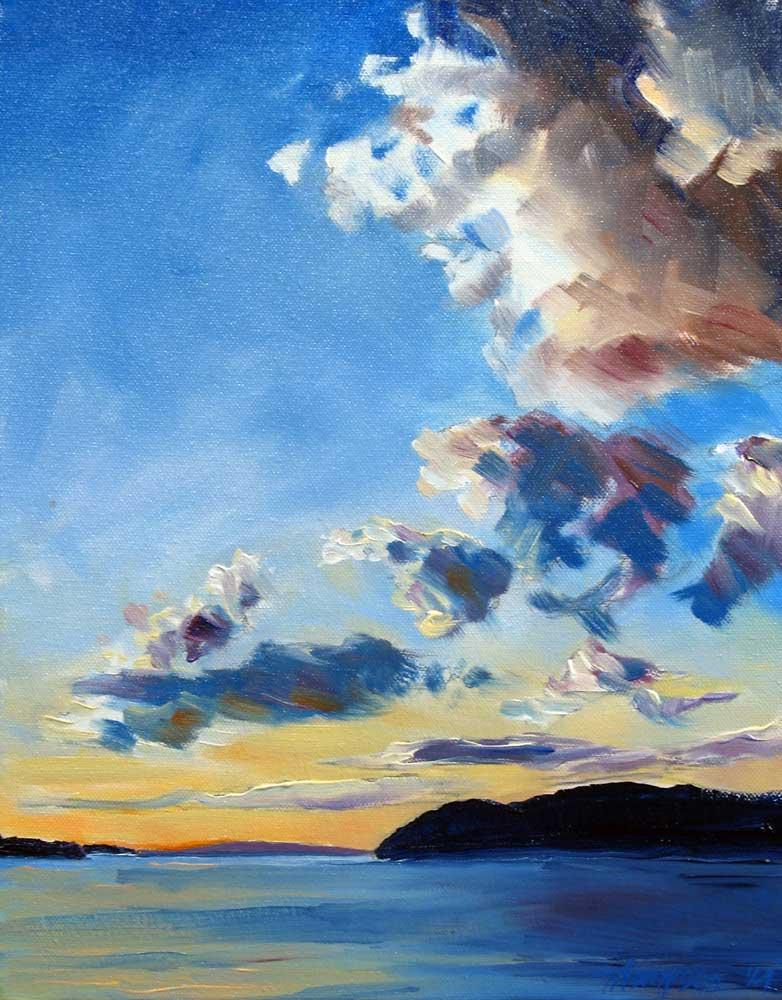 Bar Harbor Sunset III by Stuart Thompson