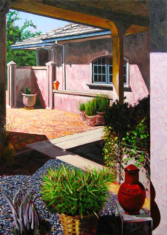 California Morning by Stuart Thompson