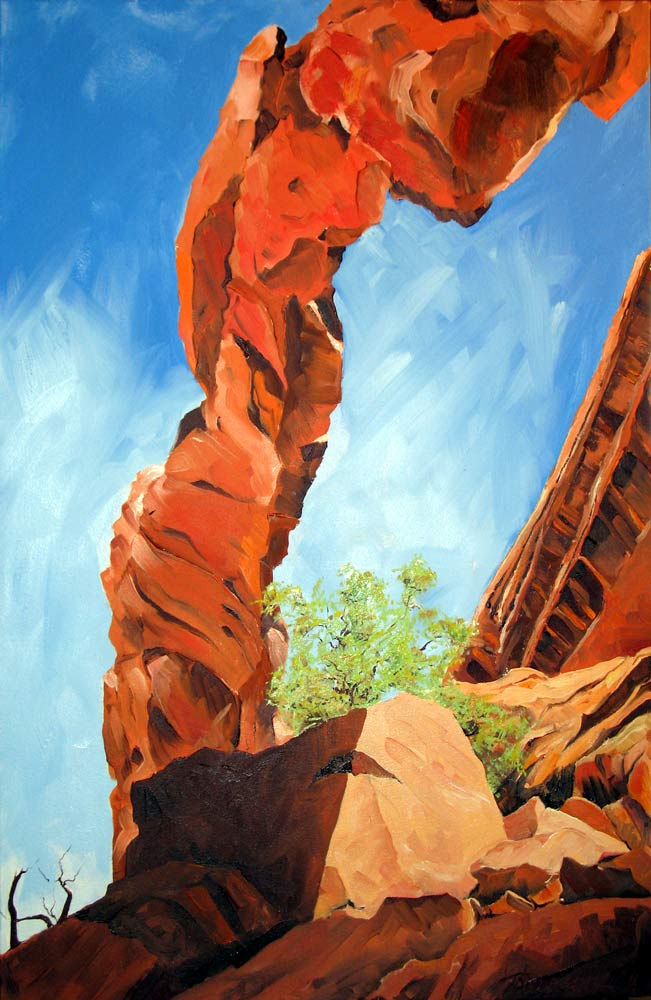 Homage to Wall Arch by Stuart Thompson