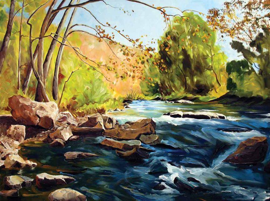 The Loyalhanna Below Longbridge by Stuart Thompson