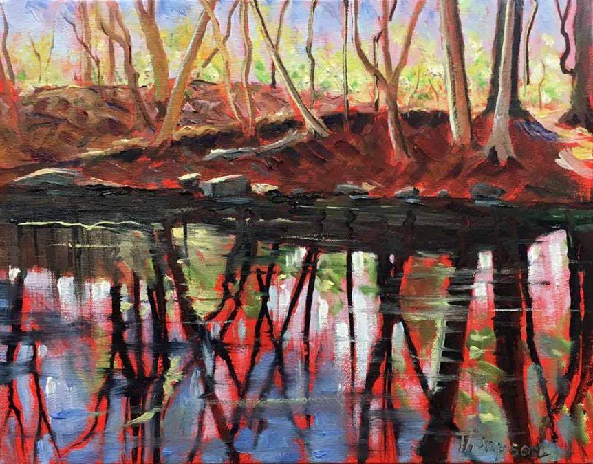 The Loyalhanna Below Ligonier by Stuart Thompson