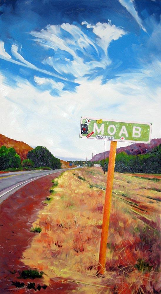 Peace Please (Moab North Gateway) by Stuart Thompson