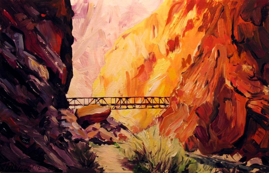 North Kaibab Trail, Grand Canyon by Stuart Thompson