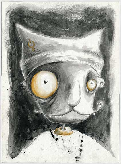 Pussy illustration