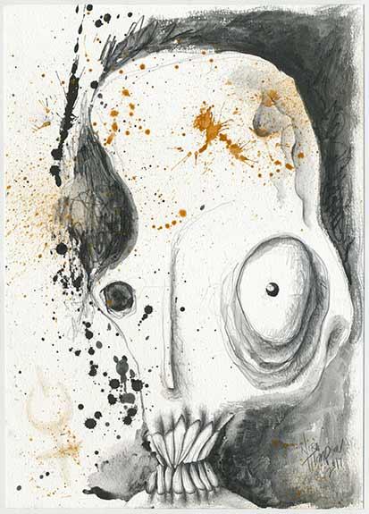 Skullish illustration