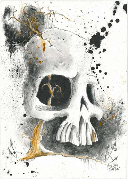 Skully illustration