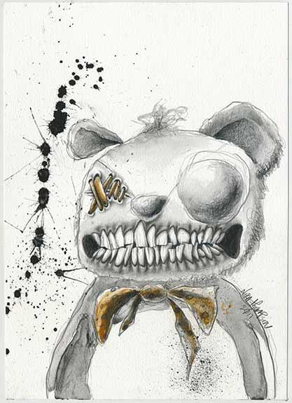 Teddy illustration