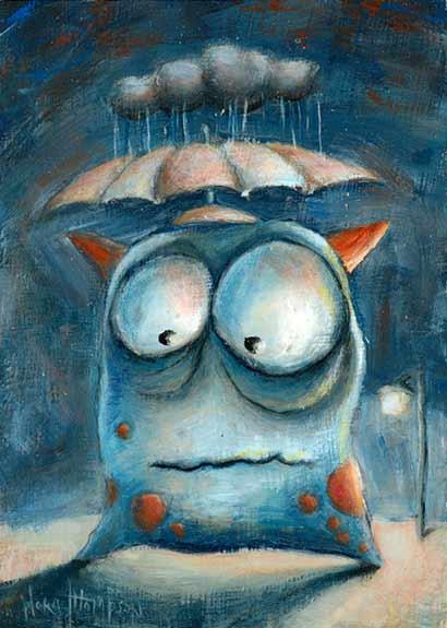 Rain Cloud by Nora Thompson